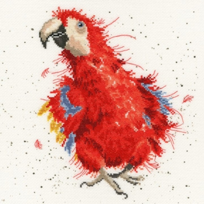 Bothy Threads BTXHD26 Parrot On Parade - Hannah Dale