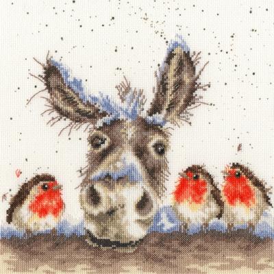 Bothy Threads BTXHD39 Christmas Donkey - Hannah Dale