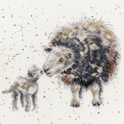 Bothy Threads BTXHD47 Ewe and Me  by Hannah Dale