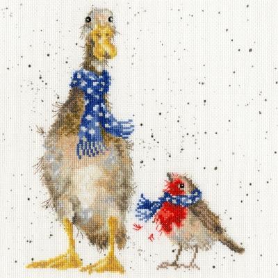 Bothy Threads BTXHD54 Christmas Scarves- Hannah Dale