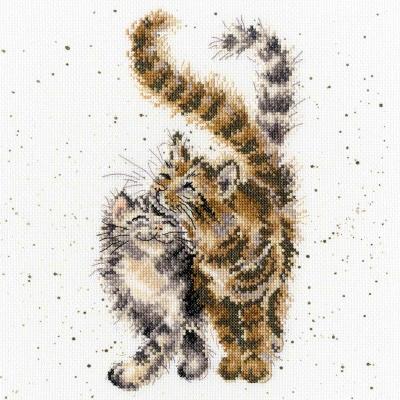 Bothy Threads BTXHD60 Feline Good  Hannah Dale Collection