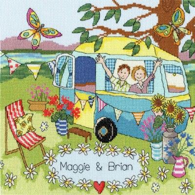Bothy Threads BTXJR36 Our Caravan  Julia Rigby Collection