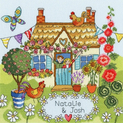 Bothy Threads BTXJR37 Our House  Julia Rigby Collection