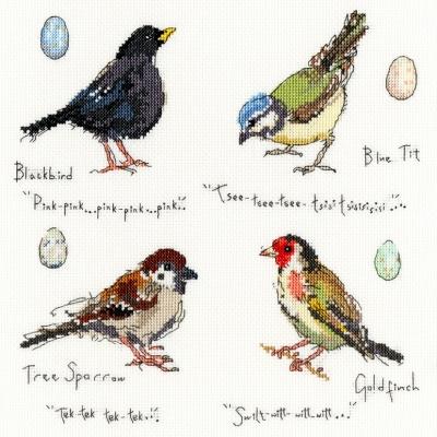 Bothy Threads BTXMF2 Garden Birds 2 - Madeleine Floyd