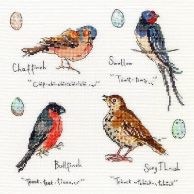 Bothy Threads BTXMF3 Garden Birds 3 - Madeleine Floyd