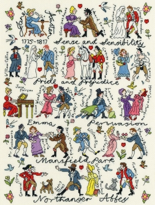 Bothy Threads BTXPS4 Jane Austen - Pete Smith - Historical