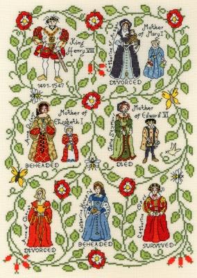 Bothy Threads BTXPS7 Henry VIII - Pete Smith