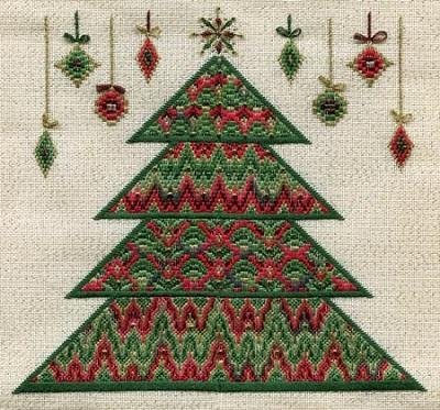 Laura J. Perin Bargello Christmas Tree