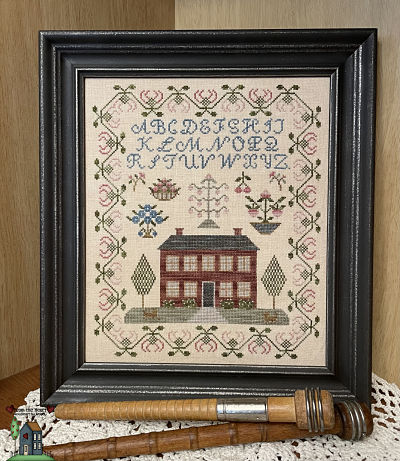 From the Heart Needleart by Wendy Berry Blossom sampler