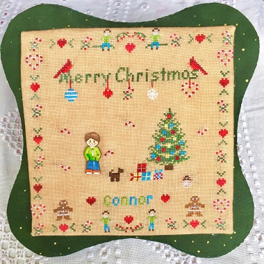 All Children Love Christmas -Boy (includes button) by MTV Designs