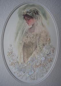 Bride silk panel+ materials