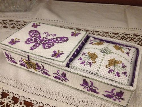 Butterfly Sewing Box MDD-BSB by Mani di Donna