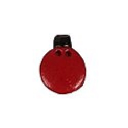 Stoney Creek - Button Pack - Red Glitter Ornament