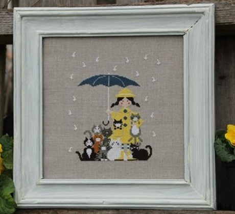 Cats In The Rain by Madame Chantilly