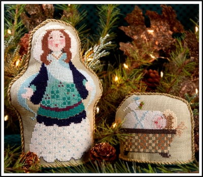 Cross-Eyed Cricket Mary had a Baby (2 designs)