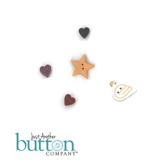 BUTTON PACK - CELESTIAL TRIO - Praiseworthy Stitches