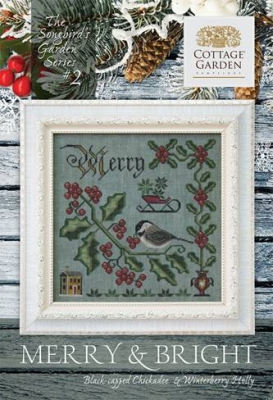 Cottage Garden Samplings Merry & Bright (2/12) - Songbird's Garden Series
