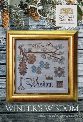 Winter's Wisdom (3/12) - Songbird's Garden Series by Cottage Garden Samplers
