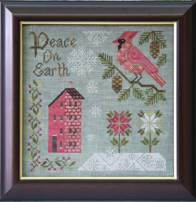 Peace On Earth by Cottage Garden Samplings