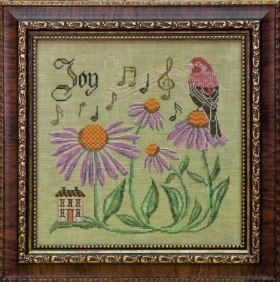 Cottage Garden Samplings Songbird's Garden 8 - Have Courage