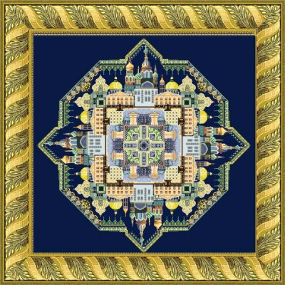 White Nights in St. Petersburg Mandala  by Chatelaine