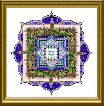 The Marrakech Night - small mandala by Chatelaine