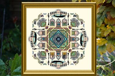 The Venice mandala chart by Chatelaine