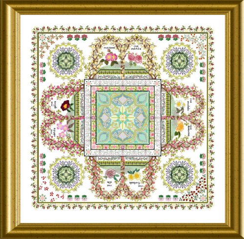 The Rosarium Mandala by Chatelaine