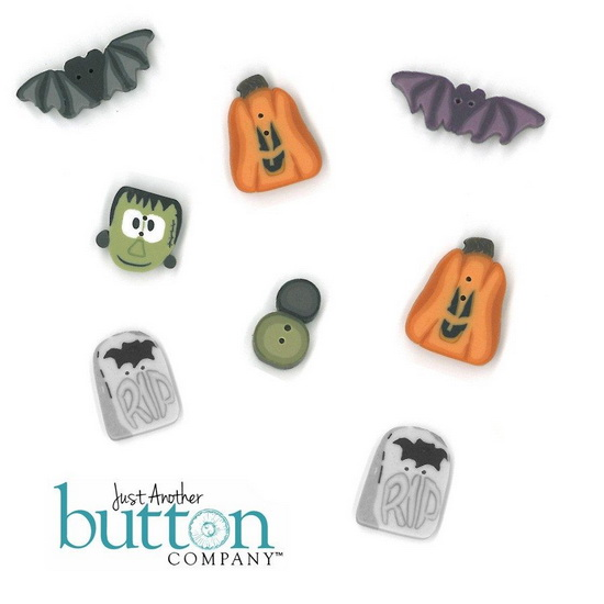 BUTTON PACK - CROAKING TOAD MANOR - Praiseworthy Stitches
