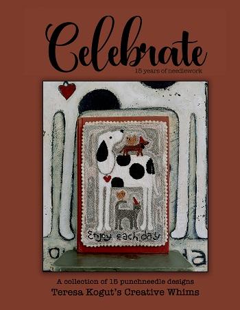 Teresa Kogut Celebrating 15 years in Needlework- PUNCHNEEDLE