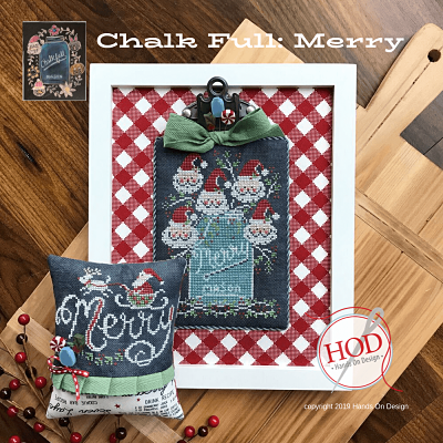 MERRY – CHALK FULL by Hands On Designs