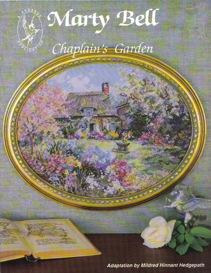 Chaplain's Garden cross-stitch chart