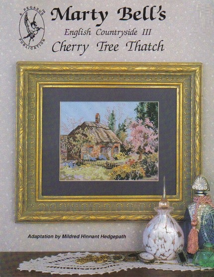 Cherry Tree Thatch cross-stitch chart
