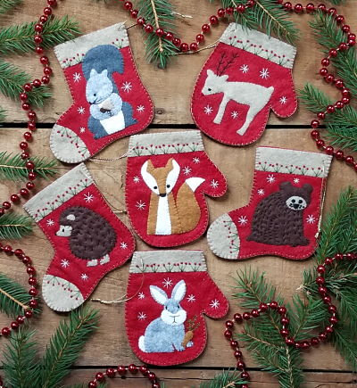 Rachael's of Greenfield Christmas Critters kit