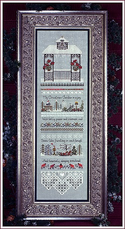 Christmas Gazebo Sampler by The Victoria Sampler