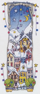 Michael Powell Art Christmas Lights I - MPCP18