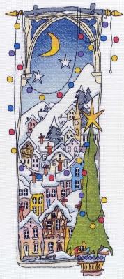 Michael Powell Art Christmas Lights II - MPCP19