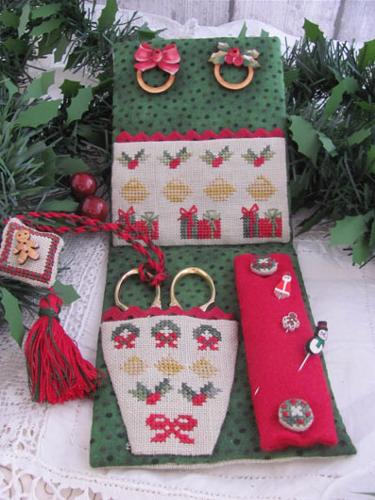 Christmas Midnight Sewing Set MDD-CMSS by Mani di Donna