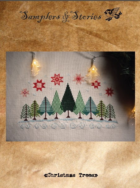 Christmas trees by Samplers & Stories