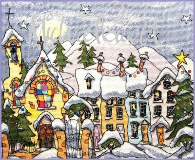 Michael Powell Art Christmas Village - MPCP125