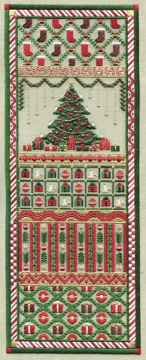 Christmas panel by Laura J.Perin Designs