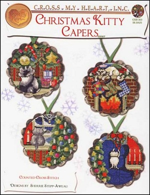 Christmas Kitty capers by Cross my heart
