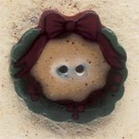 Debbie Mumm Buttons - 43189 - Country Wreath