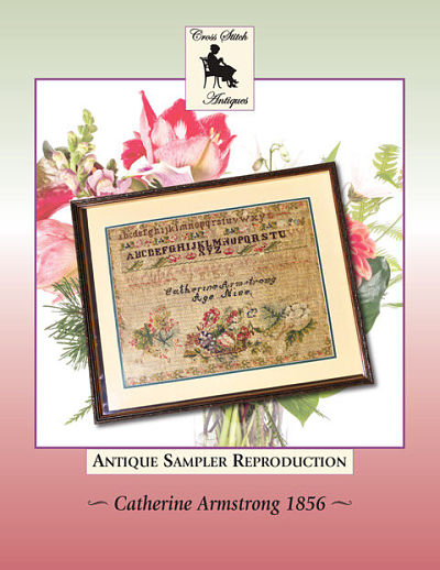 Cross Stitch Antiques Catherine Armstrong 1856