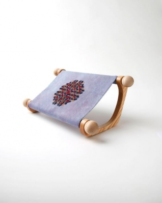 Cabranmary Woods Doodler Lap-Stitch Frame with 9 and 12 dowels