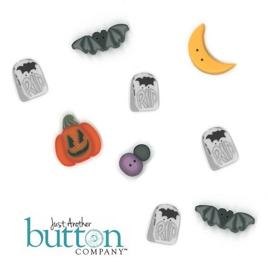 BUTTON PACK - DANCING IN THE MOONLIGHT - Praiseworthy Stitches