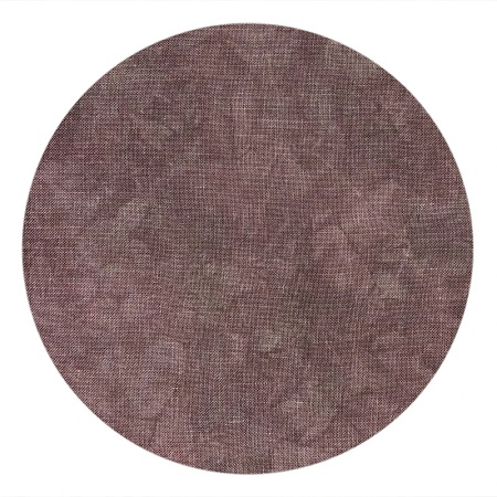 COLOUR AND COTTON Hand Dyed Fabric - DARK UMBER,18X27, LINEN 36CT