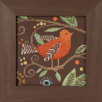 Debbie Mumm/Mill Hill Orange bird,DM301813