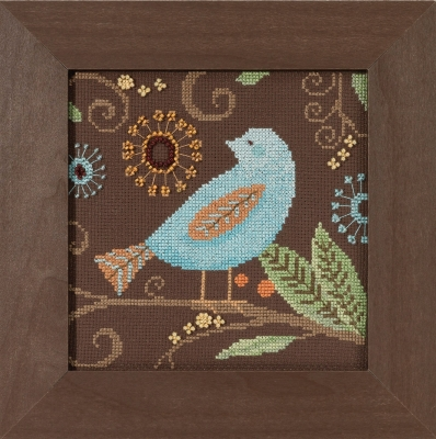Aqua Bird,DM301814,Debbie Mumm