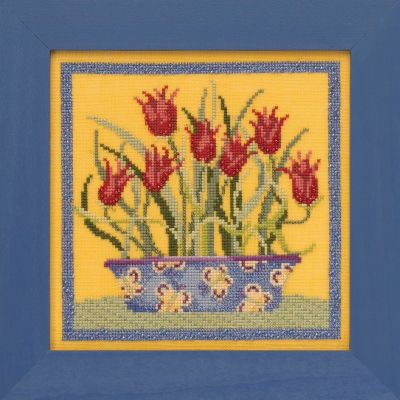 Tulips - Blooms & Blossoms,DM301913,by Debbie Mumm
